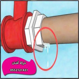 كشف تسربات المياه المعتمده شرق الرياض